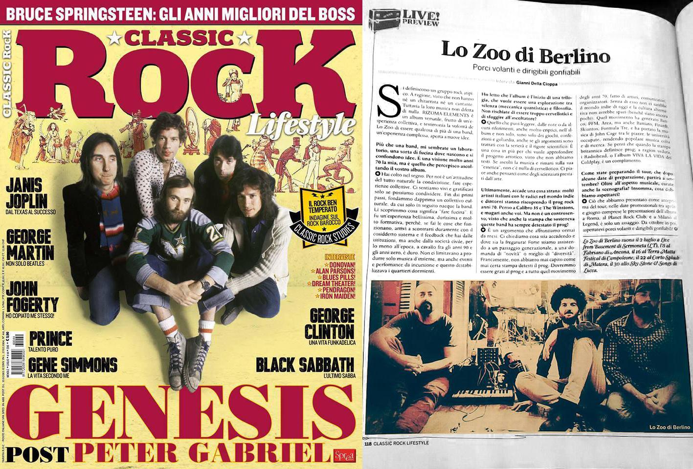 Classic Rock Italia Interview